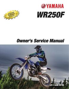yamaha motorcycle wr250f 2013, 2020 workshop & repair manual