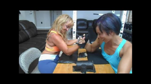 ladies arm  wrestling
