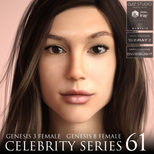 Celebrity Series 61 for Genesis 3 and Genesis 8 Female | Software | Design