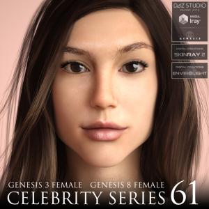 celebrity series 61 for genesis 3 and genesis 8 female