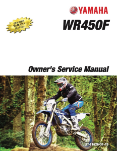 YAMAHA MOTORCYCLE WR450F 2018 Workshop & Repair manual | Documents and Forms | Manuals