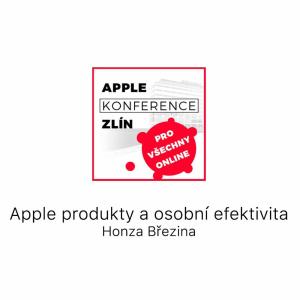 apple produkty a osobní efektivita