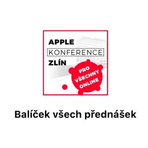 balícek všech prednášek apple online konference