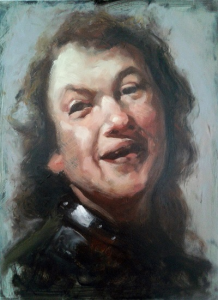 painting portrait alla prima -1 - rembrandtpp