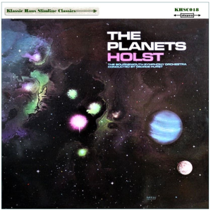 gustav holst: the planets - suite, op. 32 - bournemouth symphony orchestra/george hurst