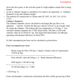 design procedure for a steel chimney (self supported)