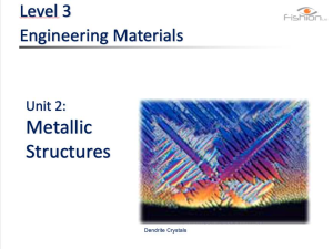 powerpoint materials 2 metals