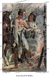 indians from patagonia, jacques kuyper, 1802