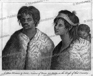 Family of Tierra del Fuego, Sidney Parkinson, 1794 | Photos and Images | Digital Art