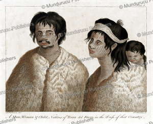 Man and woman from Tierra del Fuego, c. 1780 | Photos and Images | Digital Art
