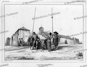 Patagonians and Aucas in war costume, Emile Lassalle, 1843 | Photos and Images | Digital Art