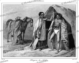 Patagonians of the North, Vernier, 1839 | Photos and Images | Digital Art