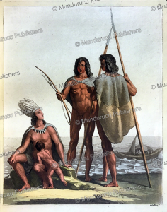 petcheree or yacanacu indians, tierra del fuego, gallo gallina, 1820