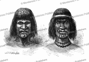 Chorito Indians of the Chaco, Argentina, E´douard Riou, 1890 | Photos and Images | Digital Art