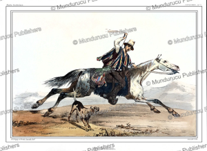 A gaucho or Chilean cowboy, Chile, Alcide Dessalines d'Orbigny, 1846 | Photos and Images | Digital Art
