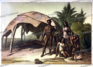 Charru´a Indians, Uruguay, Gallo Gallina, 1820 | Photos and Images | Digital Art