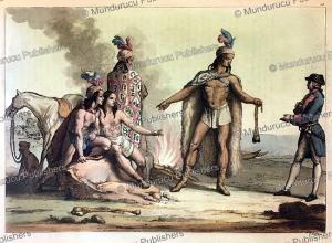 Araucanian Indians, Paraguay, Gallo Gallina, 1820 | Photos and Images | Digital Art