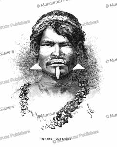 a carijona indian of colombia, e´douard riou, 1883