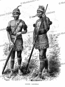 Carijona Indians of Colombia, E´douard Riou, 1883 | Photos and Images | Digital Art