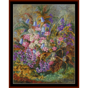 Mixed Flowers - AD Lucas  cross stitch pattern by Cross Stitch Collectibles | Crafting | Cross-Stitch | Other