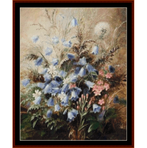Harebells and Centaury - AD Lucas  cross stitch pattern by Cross Stitch Collectibles | Crafting | Cross-Stitch | Other