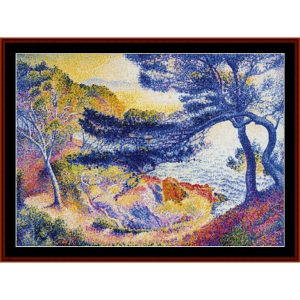 Cape Layet, Provence - H.E. Cross cross stitch pattern by Cross Stitch Collectibles | Crafting | Cross-Stitch | Other