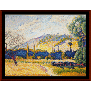 Rural Landscape - H.E. Cross cross stitch pattern by Cross Stitch Collectibles   Crafting   Cross-Stitch   Other