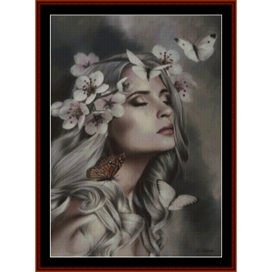 Butterfly Dreams - Fantasy cross stitch pattern by Cross Stitch Collectibles | Crafting | Cross-Stitch | Other