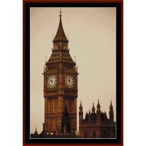 Big Ben- Vintage cross stitch pattern by Cross Stitch Collectibles | Crafting | Cross-Stitch | Other