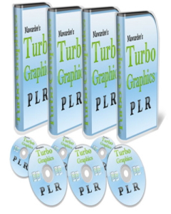 turbo graphics pack-  product with reseller license (plr)