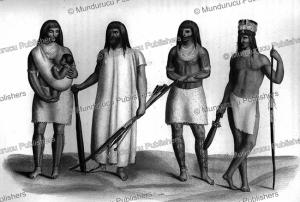 guarayos indians, bolivia, alcide d'orbigny, 1844