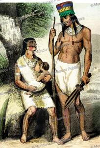 guarayos indians, bolivia, jacques kuyper, 1802