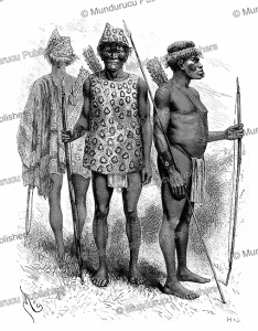 the warlike chiriguano or guarani indians of eastern bolivia, edouard riou, 1884