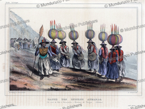 dance of the aymara or aimara indians, bolivia, alcide dessalines d'orbigny, 1846