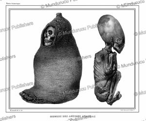 aymara or aimara or andean mummies, bolivia, emile lassalle, 1846