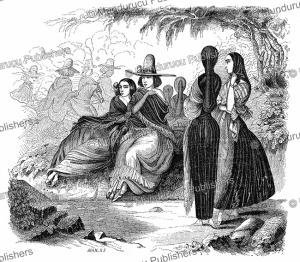 women of lima, m. radiguet, l'illustration, 1846