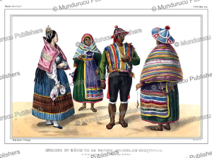 me´tis indians, bolivia, jules boilly, 1846