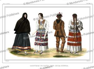 native americans of santa cruz de la sierra, bolivia, alcide dessalines d'orbigny, 1846