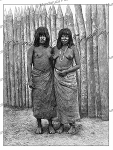 female indians of the gran chaco, bolivia, thiriat, 1887