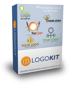 kit with logos for product or company- product with reseller license (plr)