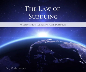 the law of subduing