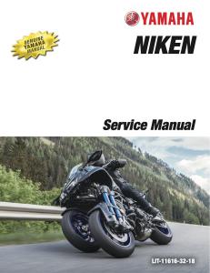 yamaha motorcycle niken 2019 workshop & repair manual