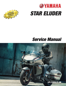 YAMAHA STAR ELUDER 2018 Workshop & Repair manual   Documents and Forms   Manuals