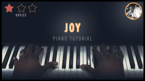 joy by vishawn mitchell (piano tutorial)
