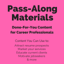 Surviving Sudden Unemployment Pass-Along Materials (PAM) | Documents and Forms | Resumes