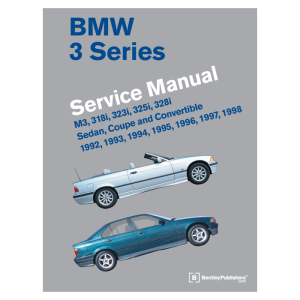 bentley e36 bmw service manual ( 1992 - 1998 )