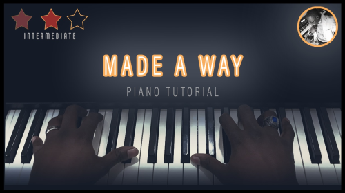 First Additional product image for - Made A Way (Piano Tutorial)