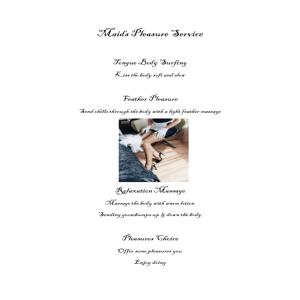 Maids Pleasure Service | eBooks | Other