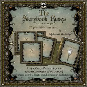 the storybook runes printable set