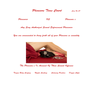 Pleasure Time Court Arrest Warrant | eBooks | Other